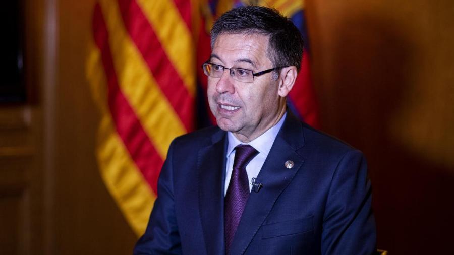 Josep Maria Bartomeu renunciou ao cargo de presidente do Barcelona - Foto: F.C. Barcelona
