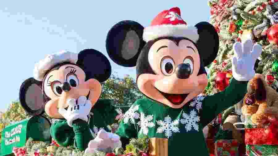 Mickey e Minnie na Walt Disney World - Divulgação Disney