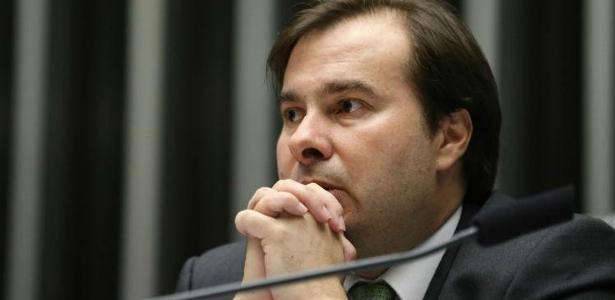 Rodrigo Maia (DEM-RJ), atual presidente da Câmara e possível candidato a novo mandato