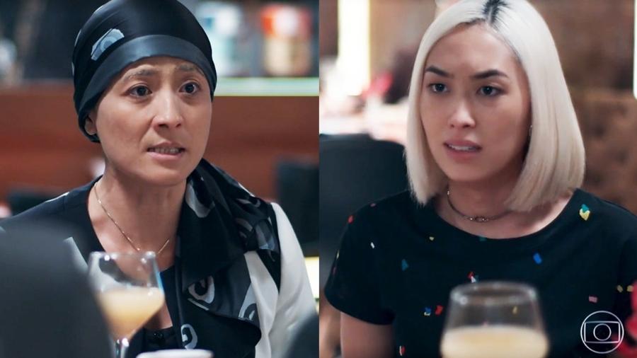 Tina (Ana Hikari) discute com a mãe em Malhação - Viva a Diferença (Foto: Globo) - Reprodução / Internet