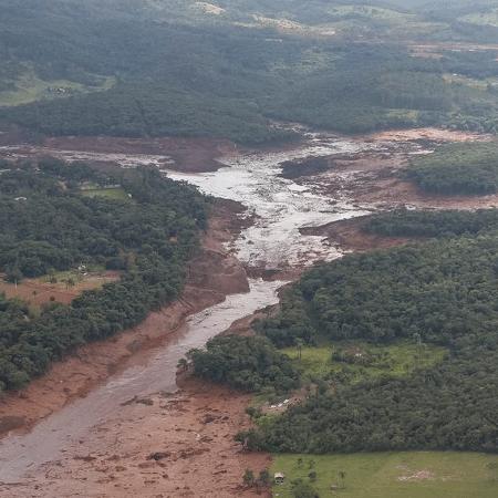 Rompimento de barragem em Brumadinho matou 270 pessoas e segue com dez desaparecidos - Isac Nóbrega/PR/Agência Brasil