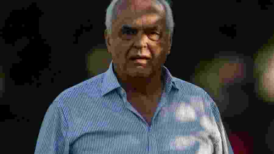 O presidente Leco - Maurício Rummens/Estadão Conteúdo