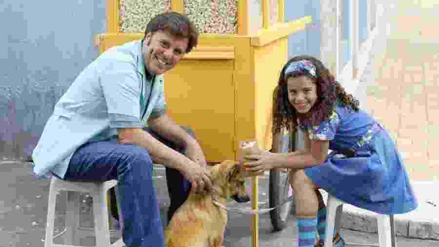 Ernando Tiago e Gabriella Saraivah como Cícero e Tati em Chiquititas (Divulgação / SBT) - Reprodução / Internet