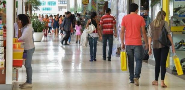 Interior de um shopping center na cidade de São Paulo - Foto: Arquivo/ Valter Campanato/ Agência Brasil
