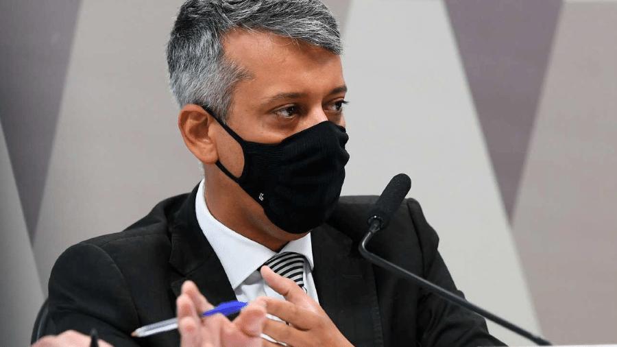 Roberto Dias, ex-diretor do Ministério da Saúde - Marcos Oliveira/Agência Senado