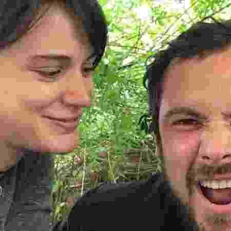Bin afirmou que ela e Guizé já passaram por duas provas no casamento: uma grande obra e a pandemia  - Bianca Bin e Sérgio Guizé (Foto: Reprodução/Instagram)