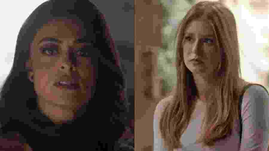 Carolina (Juliana Paes) e Eliza (Marina Ruy Barbosa) de Totalmente Demais (Reprodução - TV Globo) - Reprodução / Internet