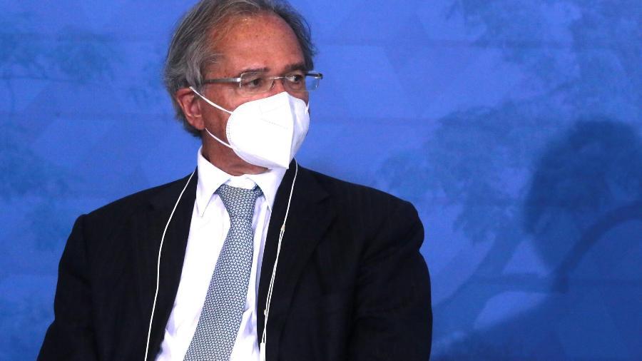 Guedes critica gestões econômicas anteriores e defende preservar caminhoneiros - Wallace Martins/Futura Press/Estadão Conteúdo