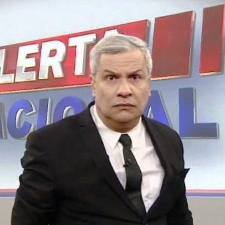 O apresentador Sikêra Jr., da RedeTV - Reprodução/RedeTV!