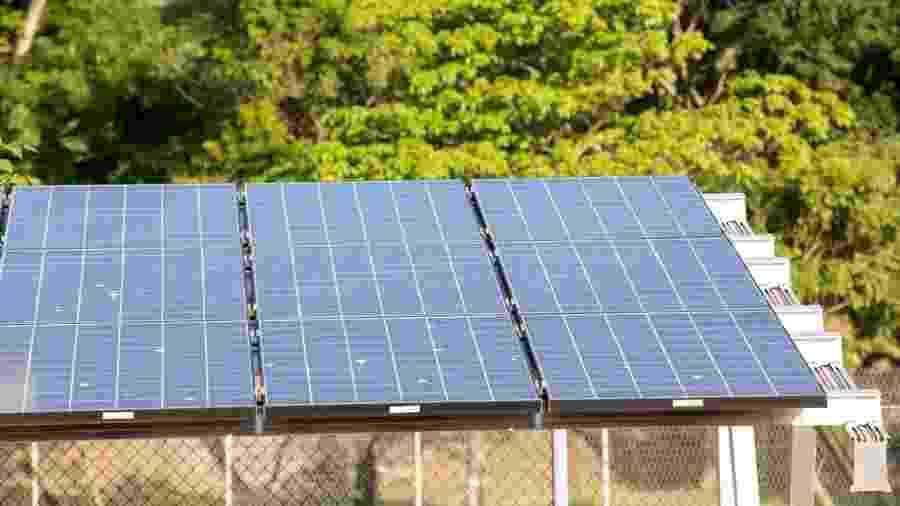 Placas de energia fotovoltaica  - Soninha Vill/GIZ