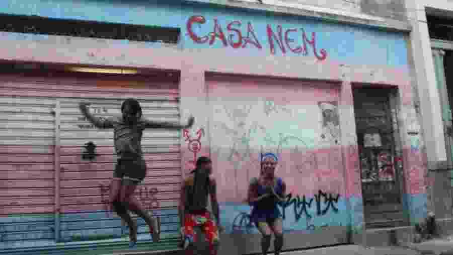 Casa Nem, que acolhe população LGBT em situação de vulnerabilidade - Reprodução