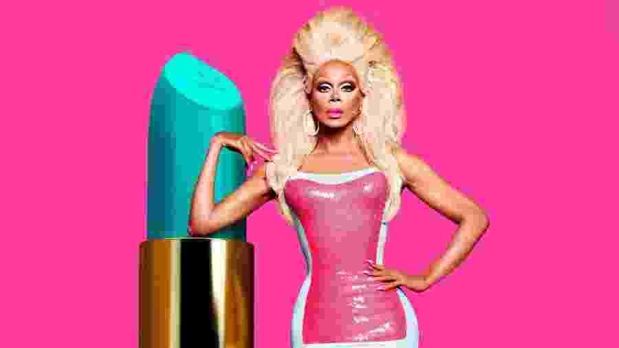 Conhecida como a drag queen mais bem-sucedida do mundo, RuPaul ultrapassou o número de vitórias do apresentador Jeff Probst - Divulgação