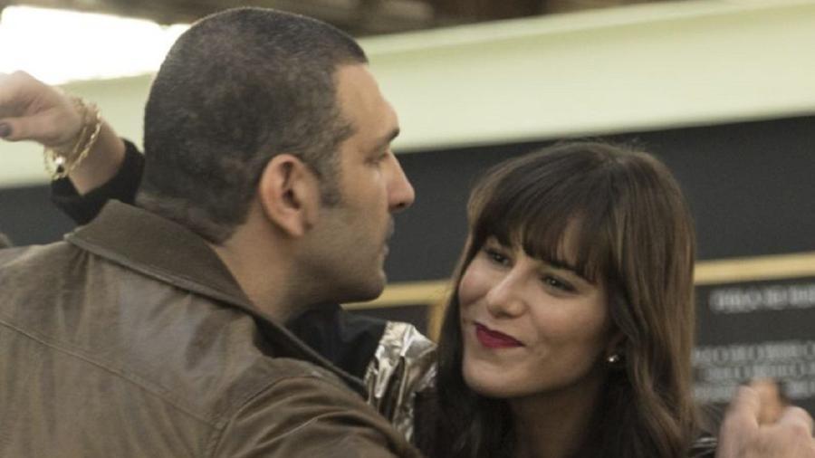 Duplex (Miguel Nader) e Furacão (Dani Moreno) em Amor Sem Igual (Foto: Antonio Chahestian/Record TV) - Antonio Chahestian/Record TV