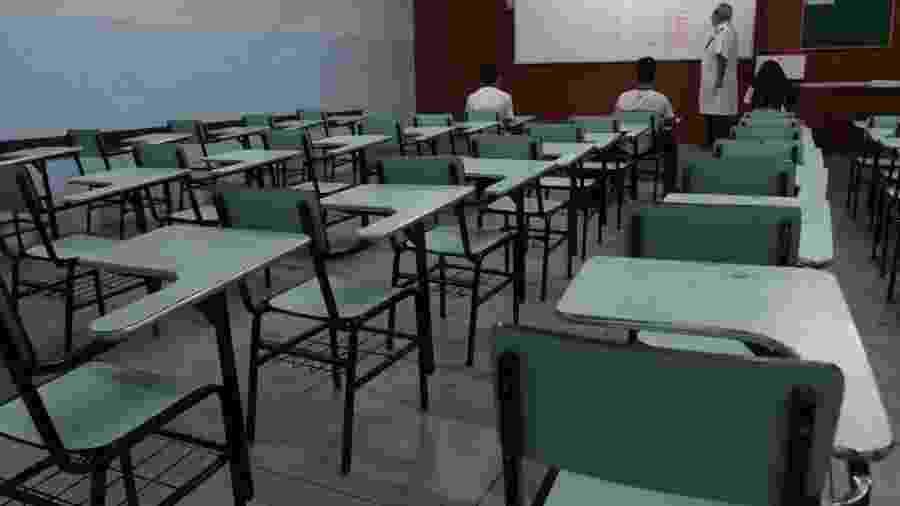 As aulas estão suspensas desde março                              - BOBBY FABISAK/JC IMAGEM
