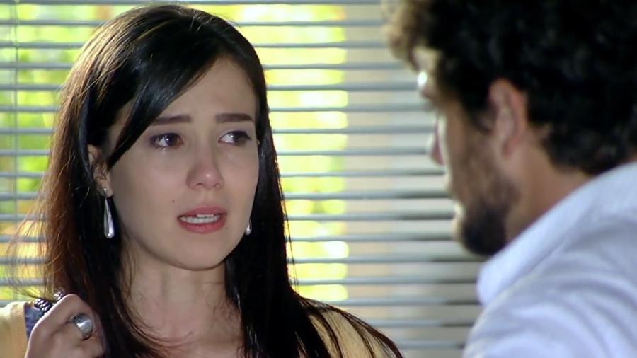 Manu (Marjorie Estiano) e Rodrigo (Rafael Cardoso) em A Vida da Gente (Reprodução/TV Globo). - Reprodução / Internet