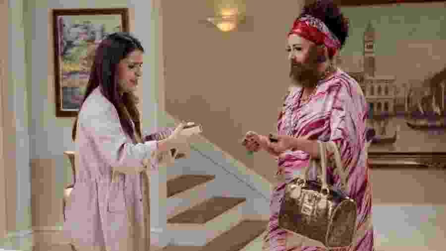 Antônio tem uma piora em seu quadro e Violeta decide leva-lo ao hospital - Lourival Ribeiro/SBT