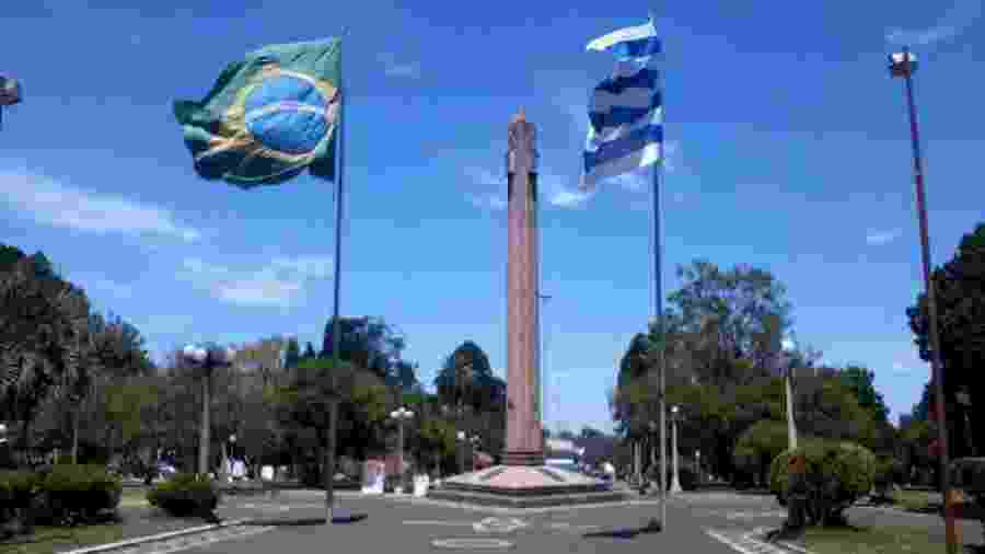 Fronteira com o Brasil preocupa governo do Uruguai na tentativa de conter as transmissões do coronavírus -                                 REPRODUÇÃO