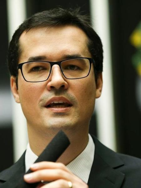 Procurador da República, coordenador da Força Tarefa do Ministério Público Federal na Operação Lava Jato, Deltan Dallagnol  -  Marcelo Camargo/Agência Brasil