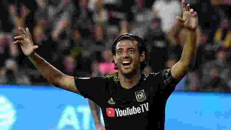 Carlos Vela fez uma ótima temporada pelo LAFC - Getty Images - Getty Images