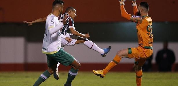 Fluminense e Chapecoense ficaram em um empate por 3 a 3