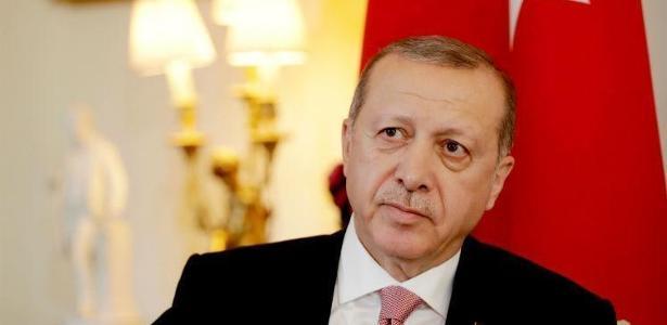 O presidente da Turquia, Raccep Tayyip Erdogan - AFP