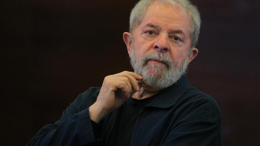 O ex-presidente Lula                              -                                 SÉRGIO CASTRO/ESTADÃO CONTEÚDO