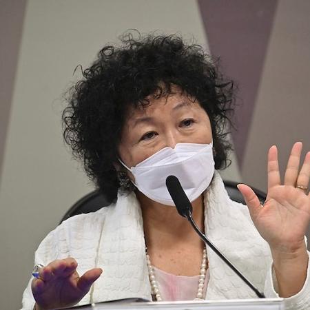 A médica Nise Yamaguchi deu declarações falsas sobre a pandemia na CPI da Covid nesta quarta (2) - Flickr/Senado Federal