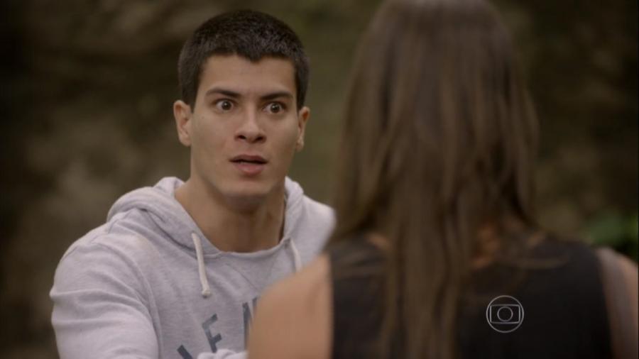 Duca (Arthur Aguiar) e Nat (Maria Joana) em Malhação - Sonhos (Foto: Reprodução / Globo) - Reprodução / Internet