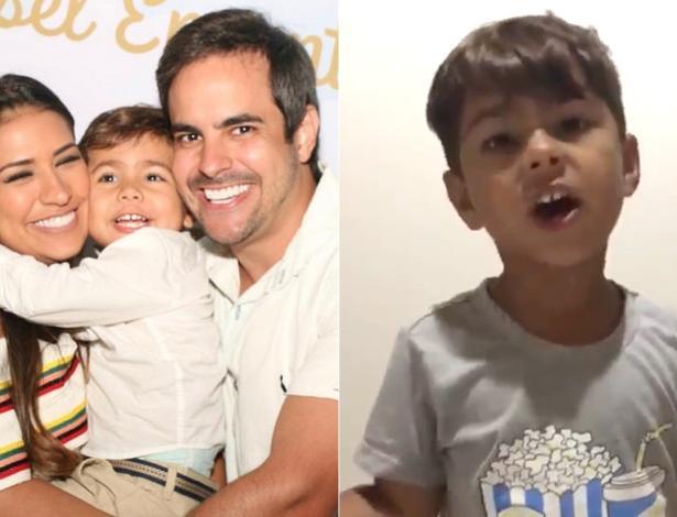 Simone com o filho, Henry, e o marido, Kaka Diniz - Foto: Reprodução/ Instagram