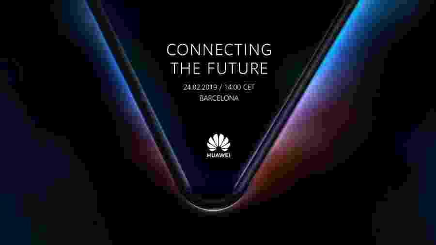 Smartphone dobrável da Huawei - Reprodução/Huawei