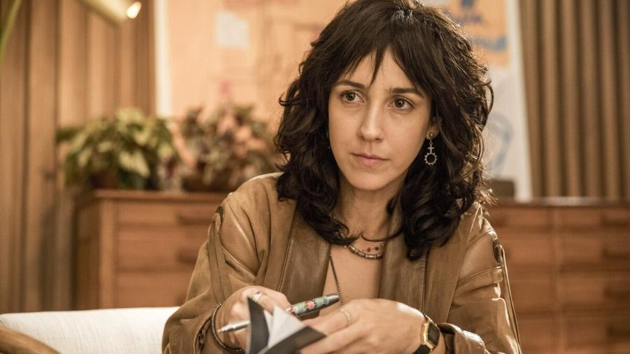 Amanda (Camila Márdila) de Amor de Mãe (Divulgação/TV Globo) - Amanda (Camila Márdila) de Amor de Mãe (Divulgação/TV Globo)