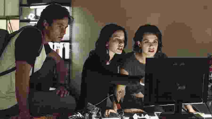 """Cena da primeira temporada de """"Control Z""""                              - Netflix/Divulgação"""