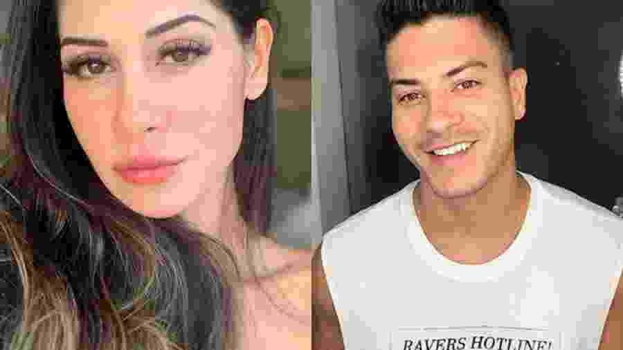 Mayra Cardi e Arthur Aguiar  - Reprodução/Instagram)
