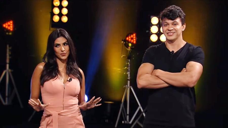 Flávia Noronha e Júlio Cocielo vão apresentar programa na RedeTV!: atração terá mesmo nome de série sobre futebol da TNT - Reprodução/RedeTV!