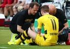 Borussia Dortmund confirma lesão grave e Reus fora dos campos - Michael Dalder Livepic/Reuters