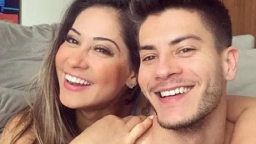 Arthur Aguiar e Mayra Cardi. (Foto: Reprodução/Instagram) - Reprodução / Internet