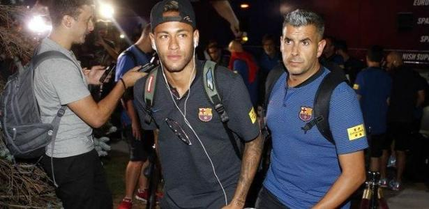 Neymar está nos Estados Unidos com o Barcelona