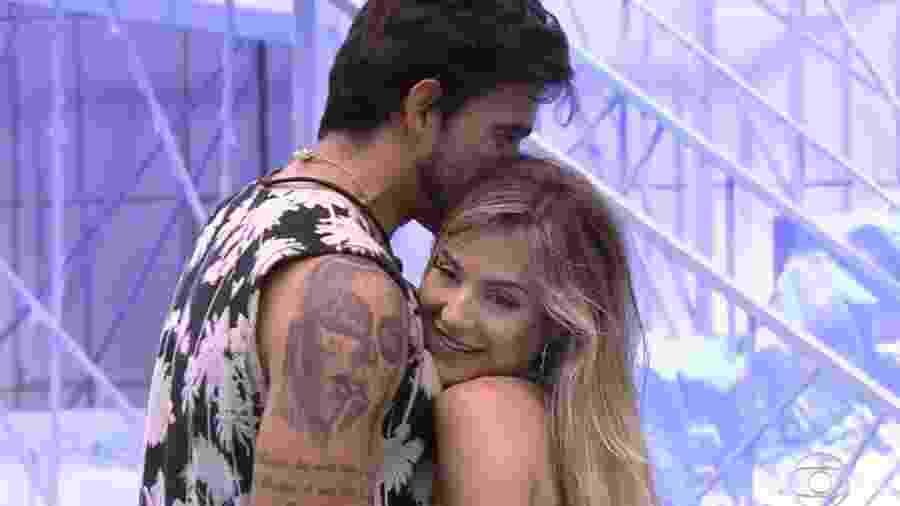 """Gui e Gabi durante o """"BBB 20"""" - Rede Globo/Reprodução"""