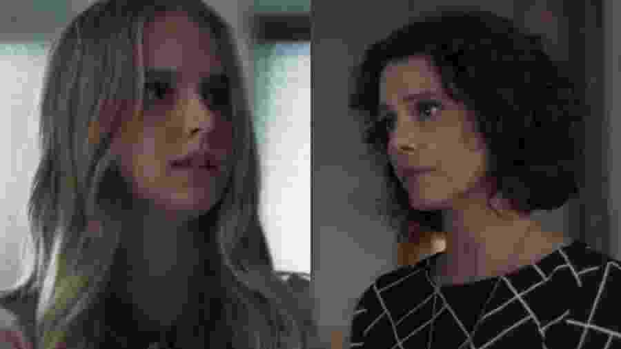 Clara (Isabella Scherer) e Marta (Malu Galli) de Malhação - Viva a Diferença (Reprodução - TV Globo) - Reprodução / Internet