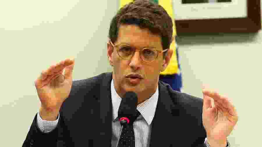 Ministro do Meio Ambiente, Ricardo Salles                              -                                 JOSé CRUZ/AGêNCIA BRASIL