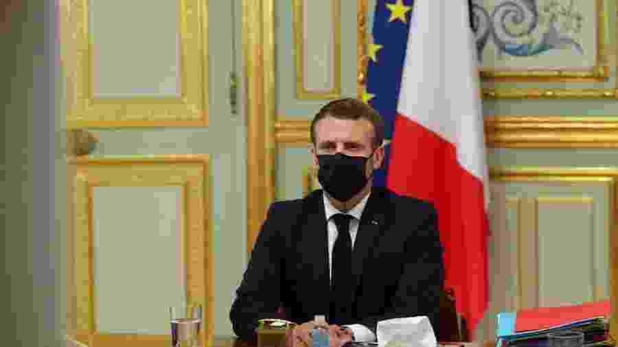 Emmanuel Macron                        -                                 THIBAULT CAMUS / AFP