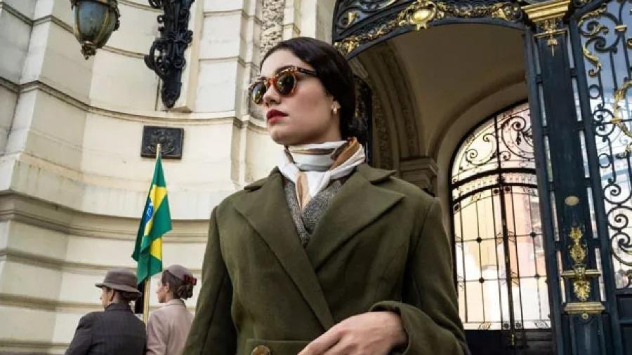 """Sophie Charlotte como Aracy de Carvalho na série """"Passaporte para a Liberdade"""" - Jayme Monjardim / Globo"""