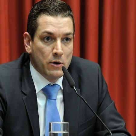 O novo chefe da PF, Paulo Maiurino: para o governo, o homem certo no momento certo - Reprodução/Twitter