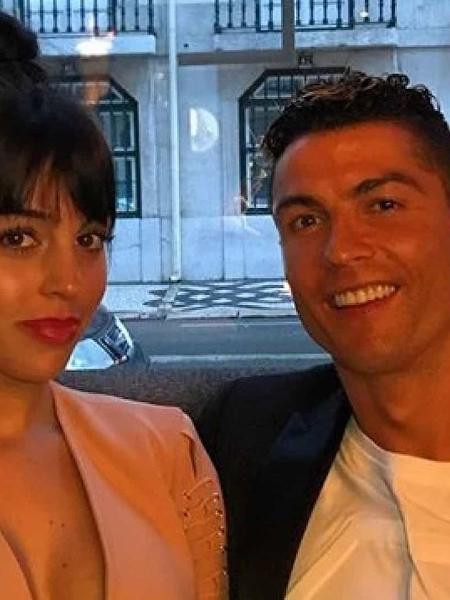 Georgina Rodríguez e Cristiano Ronaldo (Reprodução) - Reprodução / Internet