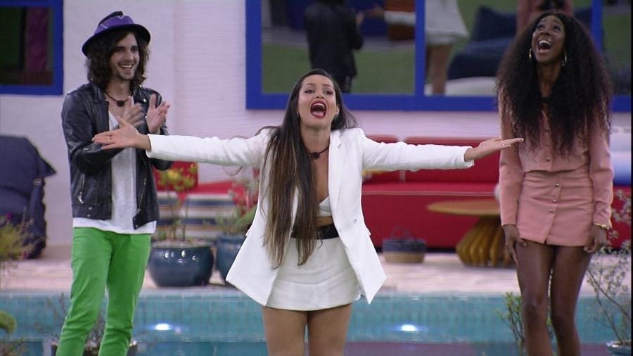 BBB 21: Juliette é a preferida do público para levar o prêmio de R$ 1,5 milhão do reality - Reprodução/Globo