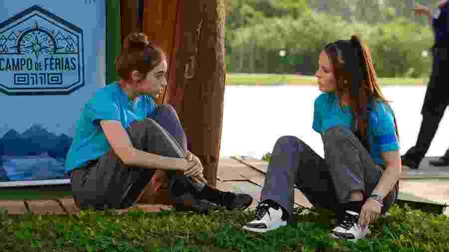 Mirela e Raquel retomam amizade (Divulgação: SBT) - Mirela e Raquel retomam amizade (Divulgação: SBT)