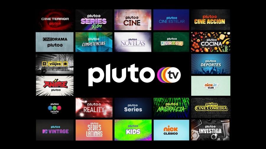 Pluto TV, serviço de streaming gratuito, chega em dezembro ao Brasil - Reprodução/Internet