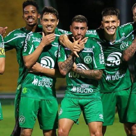 Elenco da Chapecoense - Márcio Cunha/ACF Divulgação