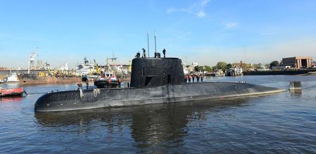 Fabricado na Alemanha em 1983, o submarino de 65 metros foi incorporado à frota argentina em 1985