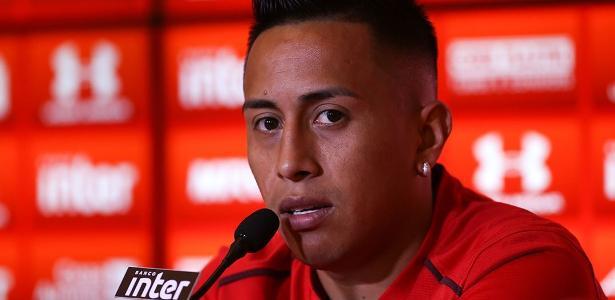 Cueva poderá defender o São Paulo na partida contra o Atlético-GO - Jales Valquer/Estadçao Conteúdo